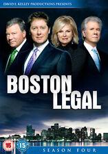 BOSTON LEGAL SEASON 4 - DVD - REGION 2 UK
