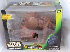 Star Wars POTF Rancor Monster w Luke Skywalker set  Power of the Force ROTJ NRFB