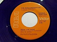 The Hues Corporation Rock The Boat / We're All Going Down 45 1974 R Vinyl Record