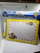 Disney Pixar Toy Story 4 Double Sided Dry Erase Board W/ Marker New