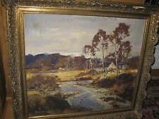 TRÄTZL Robert, *1913 Grosse Landschaft  !!!!!!!!