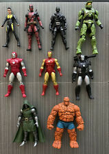 Marvel Legends Lot w/ GI Joe Snake Eyes & Halo Master Chief / Used / U.S. Seller