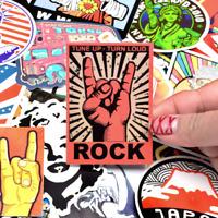 50 Rock Style Fashion Stickerbomb Retrostickern Aufkleber Sticker Mix Decals sda