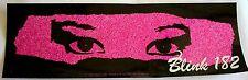 "Blink 182 ""eyes""sticker Licensed punk rock travis barker"