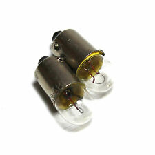 2x BA9S [T4W/233] 4w Clear Xenon Sidelight Bulbs 12v