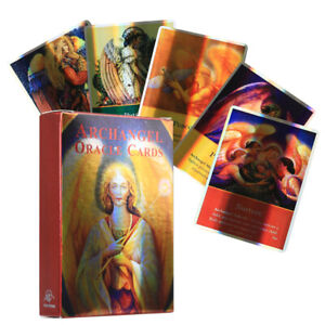Archangel Oracle Tarot Deck 78 Cards Divination Prophet Cards Party Playing