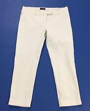 Armani jeans pantalone capri estivi w28 tg 42 bianco usati bermuda donna T1852