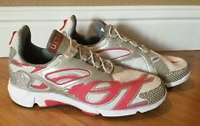 Zoot Ultra Running / Training  Shoes White/Silver/Pink Women's Size 11 Quick Tie