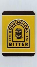 Boddingtons Bitter Beer Mat Beer Coaster