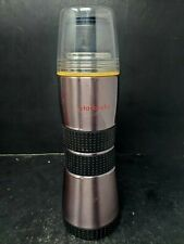 2003 Starbucks Extreme Sports Bottle Stainless Steel Pour Thru Lid