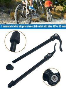 135x10mm Mountain Bike MTB Thru Axle Skewers Aluminum Alloy Quick Release Parts