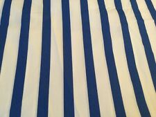 NWT Pottery Barn Kids Organic Breton Stripe Blue & White Toddler Duvet Cover