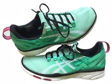 Asics Gel-Fit Sana Para Mujer Zapatos de entrenamiento, MENTA/BLANCO/NEGRO, S465N-7001, Reino Unido 3