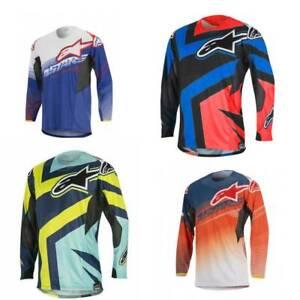 Alpinestars Jersey Techstar Factory Motocross Mx Enduro Mtb Dh Genuine UK Stock