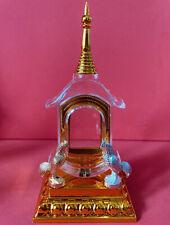 Pagoda Case Chicken Worship AI Kai Kuman Thong Wat Jedee Talisman Thai Amulet