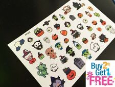 PP332 -- Kawaii Halloween Icons Planner Stickers for Erin Condren (47pcs)