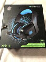 Phoinikas Gaming Headset H-1 New Open Box
