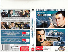 Submerged-2004 / Belly of The Beast-2003-Steven Seagal-2 Movie-2 DVD