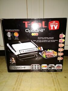 T-FAL Optigrill Indoor Electric Grill Brand New