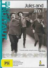 JULES & JIM - ONE OF THE GREATEST FILMS OF ALL TIME - NEW R4 DVD FREE LOCAL POST