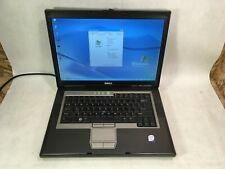 "Dell D820 15.4"" Laptop 1.83GHz / 2GB / 80GB / Windows XP / WiFi / DVD / RS232"