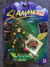 Vintage 1990's Mattel SLAMMERS NOC Skateboard Figure Weird Gross RIPSTER