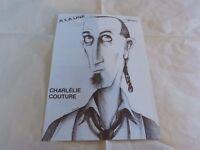 CHARLELIE COUTURE - Mini poster Noir & Blanc !!!!!!!!!
