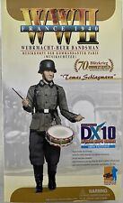 DRAGON Models 1/6 WWII Tomas Schlagmann DX10 Exclusive Bandsman France #70793