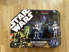 Star Wars Force Unleashed Darth Vader with Incinerator Troopers 30 TAC