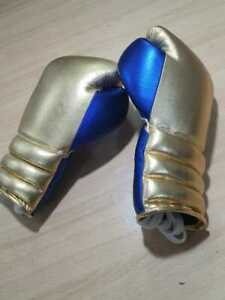 New Custom Made genuine Shiny Leather Boxing Gloves Any Brand Logo or Name