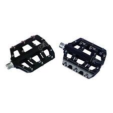 "New VP Components Vice VP-015 Thin Platform DH Freeride BMX Pedals Black 9/16"""