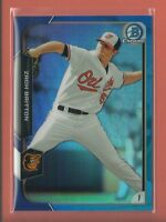 Zach Britton 2015 Bowman Chrome BLUE Refractors Card # 20 ser #'d /150 Yankees