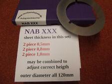 Spacer Adapter NAB  - 1 Set -  NEU - Art. NAB XXX