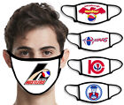 ABA Basketball Team Face Mask Covering | Vintage Retro 60s, 70s, 80s Logos