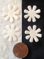 60 flowers flower petal daisy White Handmade mulberry paper daisies Wedding