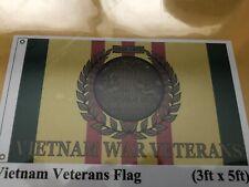 Vietnam Veteran Flag 3'X5'-New