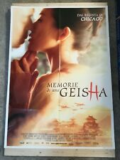 MEMORIE DI UNA GEISHA Manifesto Film 2F Poster Originale Cinema 100x140