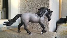 Schleich Pferd Cust Repaint Repainted Andalusier Blue Roan OOAK UNIKAT