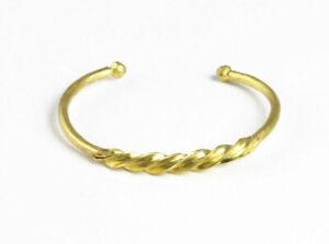 Fulani Gold Twist Men Women Bracelet | Unisex Hand Band
