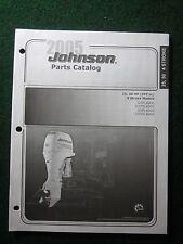 2005 Johnson Outboard Parts Catalog Manual 25 30 HP 597 cc 4 Stroke J25PL450C ++