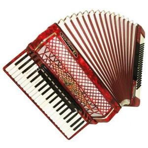 Barcarole Prominenz, Concert Piano Accordion, 120 Bass, made in Germany, 1116