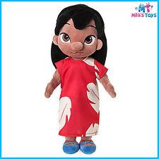 """Disney Animators' Collection Lilo & Stitch's Lilo 12"""" Plush Doll brand new w/tag"""