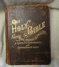 Wilmore's New Analytical Reference BIBLE - 1893