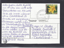Suiza 1823a Arnica flor Flower Fleur Helvetia mapa card Carte Swiss