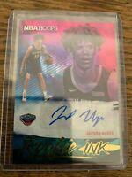JAXSON HAYES ROOKIE INK AUTO NEW ORLEANS PELICANS PANINI NBA HOOPS 2019-20 CARD
