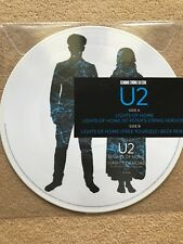 "U2 LIGHTS OF HOME RARE 12"" PICTURE DISC VINYL RECORD STORE DAY 2018 RSD"