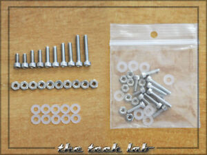 Complete Set Phono Cartridge Mounting Screws Non Magnetic Inox Stainless Steel