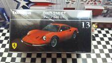 TOMICA PREMIUM #13 FERRARI DINO 246 GT 1/61 SCALE NEW IN BOX