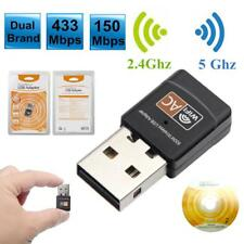 600Mbps WiFi Wireless Adapter USB Dual-band 2.4G / 5G Receiver Dongle RTL8811AU