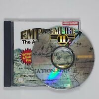 Empire II The Art of War MS-DOS PC CD-ROM Game War Simulation (1995)